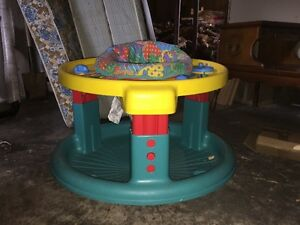 Baby seat/ swing, flyingsaucer, rock and bounce and diaper genie