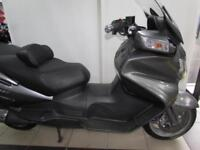2009 SUZUKI AN650 A K9 BURGMAN ABS WITH HEATED GRIPS AND SEATS ELECTRIC SCREEN
