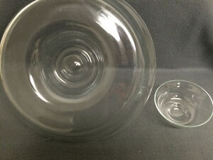 Collectible Antique Large Glass Party Chip & Dip Bowls London Ontario image 4