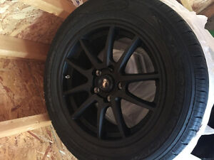 Need gone! Tires and rims!!! brand new
