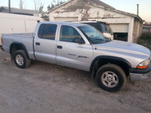 2001 Dodge Dakota 3.9L 4x4 Manual For Parts