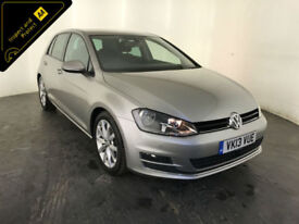 2013 VOLKSWAGEN GOLF GT ACT BLUEMOTION TECH TSI 1 OWNER SERVICE HISTORY FINANCE