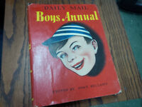 Daily Mail Boys Annual First Edition Hardcover 1955