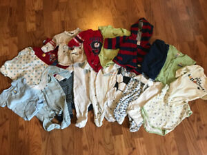 Baby Boy Clothes 0-3 MONTHS Jumpers, Onesies, Sweater, Pants...