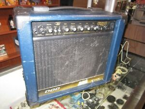 """DOD """"GRIND IT"""" With Echo Guitar Amp For Sale"""