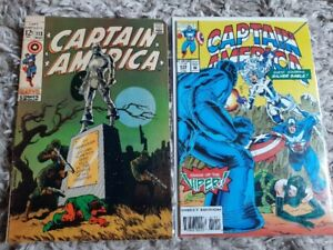 2 Great Captain America Comics