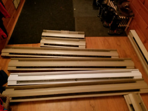 7 baseboards heaters