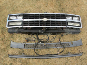 88 Style 4 Headlight Grill 73-87 1973-1987 Chev Chevy GM GMC