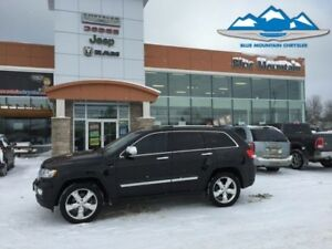 2013 Jeep Grand Cherokee Overland  ACCIDENT FREE, LOCAL TRADE, L