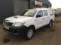 *SOLD* 2012 (62) Toyota Hilux 2.5 D4-D HL2 Double Cab 4x4 Diesel Pickup *64k*