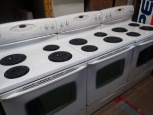 Several Maytag Self Cleaning Stoves with Full Warranty