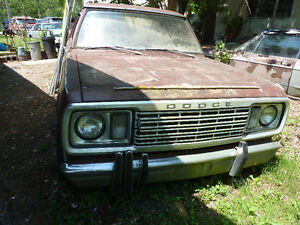 REDUCED TO $1200! RARE 1977 DODGE CUSTOM 100