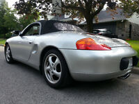 2000 Porsche Boxster leather Convertible