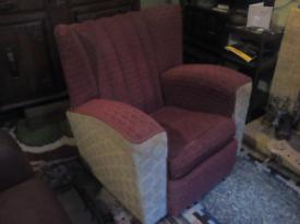 Vintage 1950s armchair