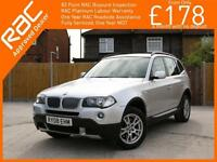 2008 BMW X3 3.0si SE 272 PS 6 Speed Auto 4x4 4WD Climate Control PDC Parking Sen