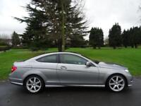 MERCEDES C CLASS C180 BLUEEFFICIENCY AMG SPORT EDITION 125 COUPE 2011/61