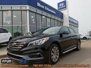 2015 Hyundai Sonata 2.4L SPORT  Partial Leather, Pano Roof, Rear