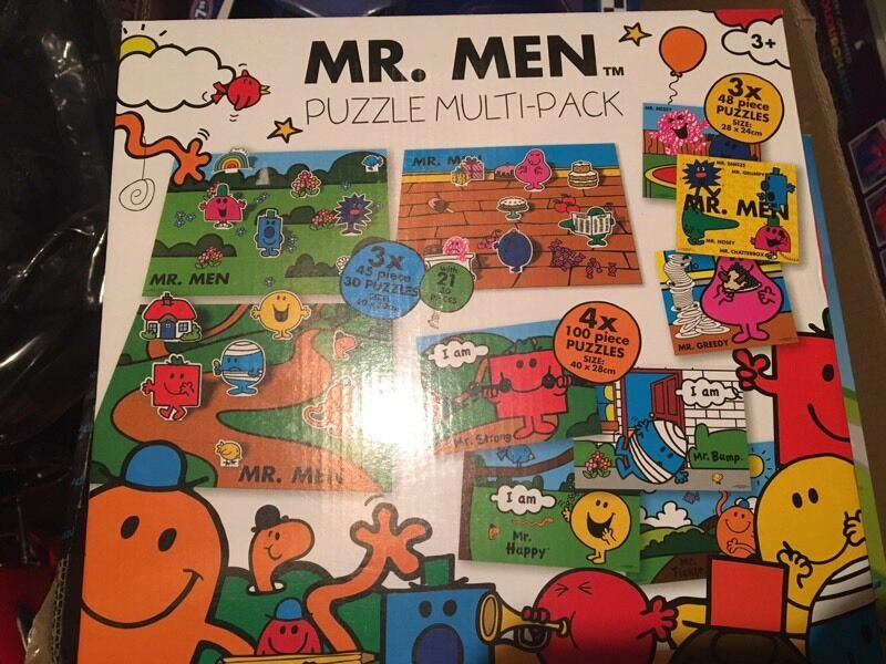 Mr Men Puzzle Multi-pack