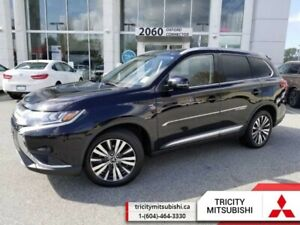 2019 Mitsubishi Outlander GT S  LEATHER-SUNROOF-7 SEATS