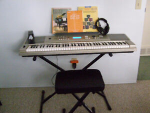 Yamaha Portable Grand & Accessories