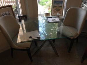 Table and2  Chairs FOR SALE - Together or separate