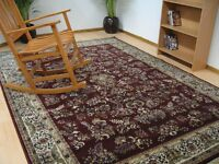Beautiful Wool Persian Rug XL Brand New Ex-john Lewis #241