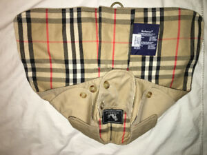 New authentic Burberry London trench coat for small dog