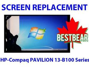 Screen Replacement for HP-Compaq PAVILION 13-B100 Series Laptop