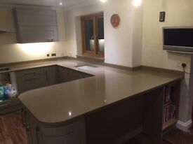 Stone worktop fitting team