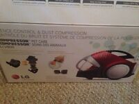 LG Vacuum for sale- used only 2 times!