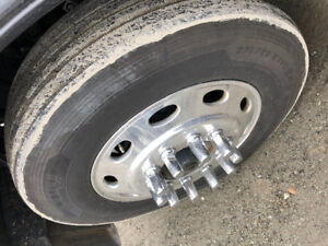 ***11R 24.5 RIMS AND TIRES***