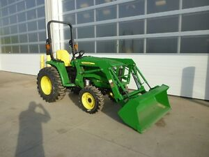REDUCED BY $7,600! John Deere 3032E Tractor, Loader, Snow Blower