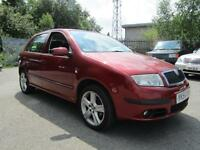 SKODA FABIA ELEGANCE 16V, Red, Manual, Petrol, 2006 1 OWNER FROM NEW HISTORY