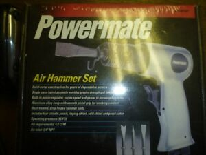 NEW Coleman Powermate Air Hammer Set