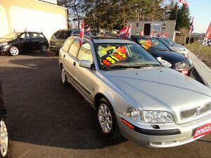 2002 Volvo V40 w/Sunroof Wagon E-TESTED & CERT