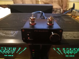FX-AUDIO TUBE-00 PREAMP PREAMPLIFIER AMPLIFIER US GE 5654W TUBES