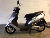 Peugeot 50cc v clic 2012 only 502 miles one owner like new