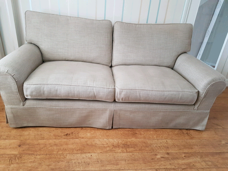 Laura Ashley Kendal Sofa And Arm Chair In Chesterfield