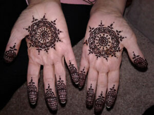 Mahndi/Henna tattoos