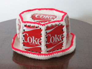Coca-Cola knitted hat