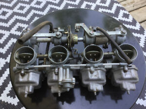 Honda carburetors.