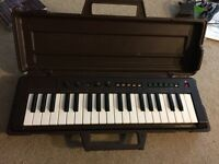 Yamaha portasound PS-2 1980's keyboard with original case great for circuit bending