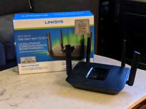 Routeur Linksys tribande