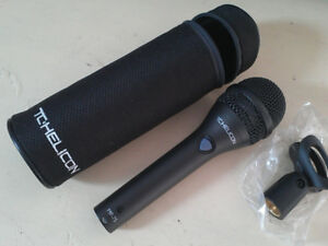 TC-Helicon MP-75 - Super Cardioid Vocal Mic with Pedal Control