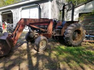 1989 485 international tractor
