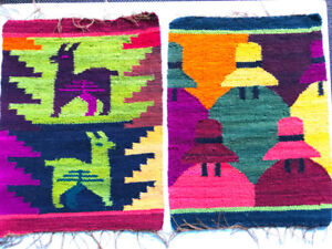 2 new Peruvian Tapestries - $ 20.00 both