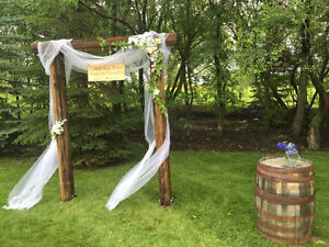 Rustic Wedding Arch / Arbour - For Sale or Rent