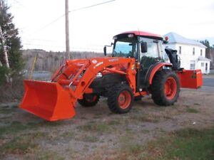 MINT 2012 KUBOTA GRAND L4240 HSTC TRACTOR, ONLY 348 HRS