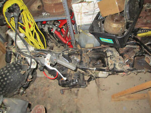1985 honda atc 250sx project it is complete