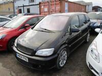 2004 Vauxhall Zafira MPV 2.0 GSi 16V Petrol black Manual